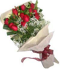 11 adet kirmizi güllerden özel buket  Hatay güvenli kaliteli hızlı çiçek