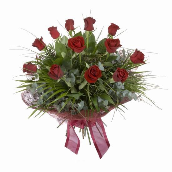 Etkileyici buket 11 adet kirmizi gül buketi  Hatay çiçek mağazası , çiçekçi adresleri