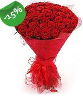 51 adet kırmızı gül buketi özel hissedenlere  Hatay çiçek servisi , çiçekçi adresleri