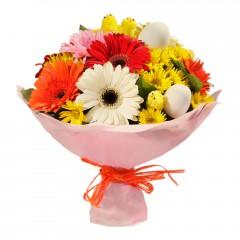 Karışık mevsim buketi Mevsimsel çiçek  Hatay güvenli kaliteli hızlı çiçek