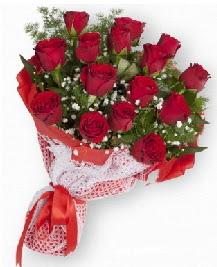 11 kırmızı gülden buket  Hatay çiçekçi mağazası