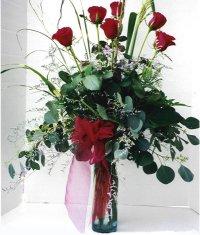 Hatay çiçek servisi , çiçekçi adresleri  7 adet gül özel bir tanzim