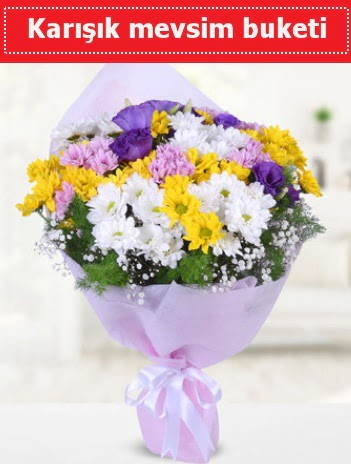 Karışık Kır Çiçeği Buketi  Hatay çiçekçi mağazası