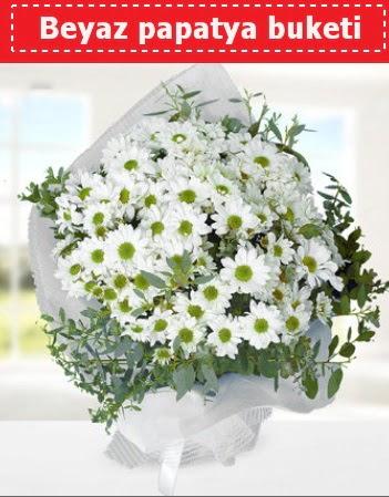 Beyaz Papatya Buketi  Hatay çiçek yolla