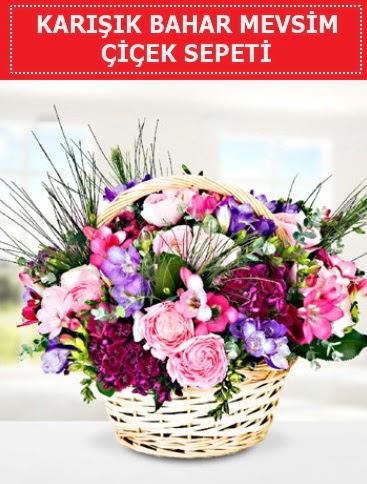 Karışık mevsim bahar çiçekleri  Hatay anneler günü çiçek yolla
