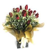 Hatay güvenli kaliteli hızlı çiçek  11 adet kirmizi gül  buketi