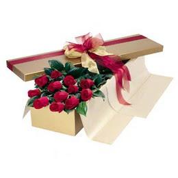 Hatay İnternetten çiçek siparişi  10 adet kutu özel kutu