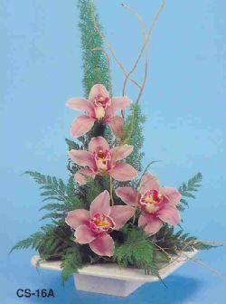 Hatay cicekciler , cicek siparisi  vazoda 4 adet orkide