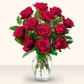 Hatay online çiçek gönderme sipariş  10 adet gül cam yada mika vazo da