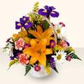 Hatay çiçek yolla  sepet içinde karisik çiçekler
