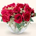 Hatay çiçek satışı  mika yada cam içerisinde 10 gül - sevenler için ideal seçim -