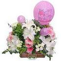 balon ve çiçeklerle tanzim  Hatay çiçek mağazası , çiçekçi adresleri