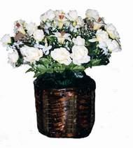 yapay karisik çiçek sepeti   Hatay çiçek yolla , çiçek gönder , çiçekçi