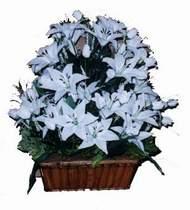 yapay karisik çiçek sepeti   Hatay online çiçekçi , çiçek siparişi