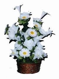yapay karisik çiçek sepeti  Hatay yurtiçi ve yurtdışı çiçek siparişi