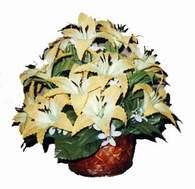 yapay karisik çiçek sepeti   Hatay çiçek servisi , çiçekçi adresleri
