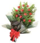 12 adet kirmizi gül buketi   Hatay çiçek online çiçek siparişi