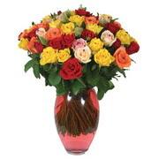 51 adet gül ve kaliteli vazo   Hatay çiçek siparişi vermek