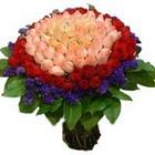 71 adet renkli gül buketi   Hatay anneler günü çiçek yolla