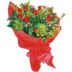 10 adet kirmizi gül buketi  Hatay online çiçek gönderme sipariş