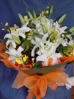 Hatay çiçek mağazası , çiçekçi adresleri  5 ADET KAZABLANKA BUKETI KALITEDEN SASMAYANLARA