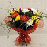 Hatay hediye sevgilime hediye çiçek  Karisik mevsim demeti