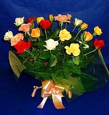 Hatay hediye sevgilime hediye çiçek  13 adet karisik renkli güller