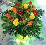 13 adet karisik gül buketi demeti   Hatay çiçek gönderme sitemiz güvenlidir
