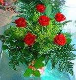 6 adet kirmizi gül buketi   Hatay online çiçekçi , çiçek siparişi