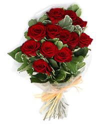 Hatay çiçekçiler  9 lu kirmizi gül buketi.