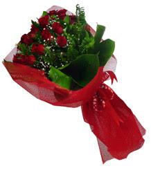 Hatay çiçek siparişi vermek  10 adet kirmizi gül demeti