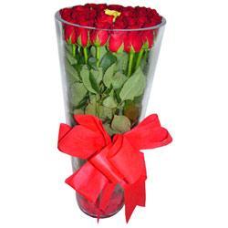 Hatay çiçek satışı  12 adet kirmizi gül cam yada mika vazo tanzim