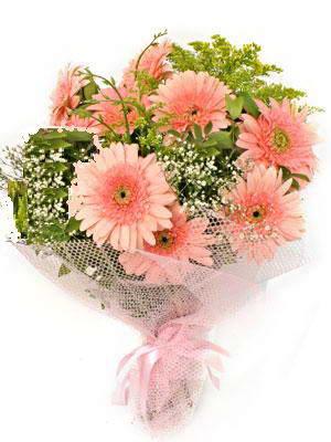 Hatay uluslararası çiçek gönderme  11 adet gerbera çiçegi buketi