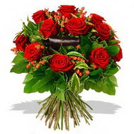 9 adet kirmizi gül ve kir çiçekleri  Hatay çiçek mağazası , çiçekçi adresleri