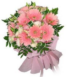 Hatay İnternetten çiçek siparişi  Karisik mevsim çiçeklerinden demet