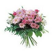 karisik kir çiçek demeti  Hatay uluslararası çiçek gönderme