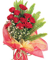 11 adet kaliteli görsel kirmizi gül  Hatay uluslararası çiçek gönderme