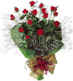 11 adet kirmizi gül buketi özel hediyelik  Hatay çiçek online çiçek siparişi