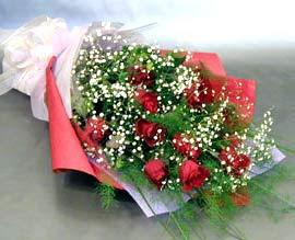 10 adet kirmizi gül çiçegi gönder  Hatay çiçek gönderme
