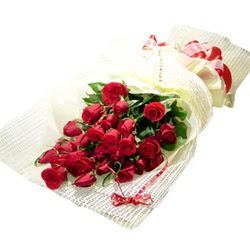 Çiçek gönderme 13 adet kirmizi gül buketi  Hatay uluslararası çiçek gönderme