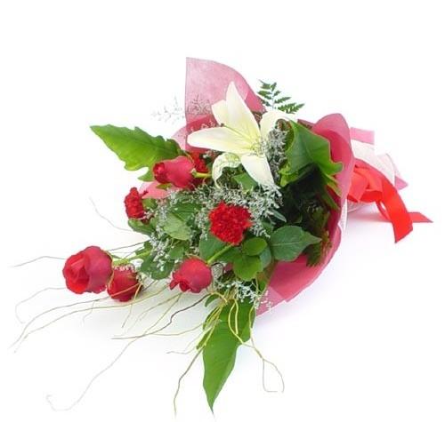 Mevsim çiçeklerinden karisik buket  Hatay çiçek yolla , çiçek gönder , çiçekçi