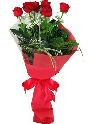 7 adet kirmizi gül buketi  Hatay çiçekçiler