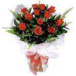Hatay 14 şubat sevgililer günü çiçek  9 adet güzel bir gül buketi