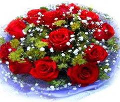 9 adet kirmizi güllerden buket  Hatay cicekciler , cicek siparisi