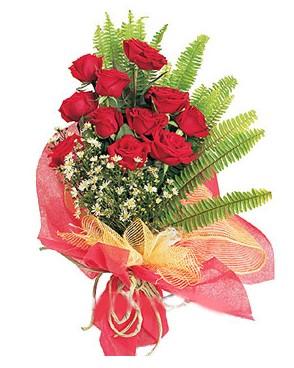 Hatay internetten çiçek siparişi  11 adet kırmızı güllerden buket modeli