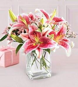 2 dal kazablanka görsel vazosu  Hatay çiçek servisi , çiçekçi adresleri
