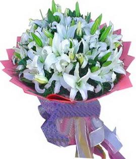 7 dal cazablanca görsel buketi  Hatay çiçek online çiçek siparişi