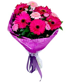 Hatay çiçek servisi , çiçekçi adresleri  karışık gerbera çiçeği buketi