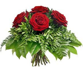 Hatay ucuz çiçek gönder  5 adet kırmızı gülden buket