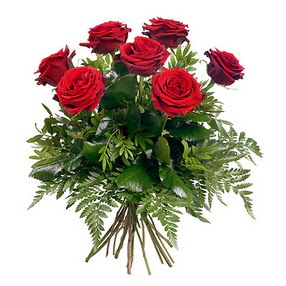 Hatay online çiçekçi , çiçek siparişi  7 adet kırmızı gülden buket